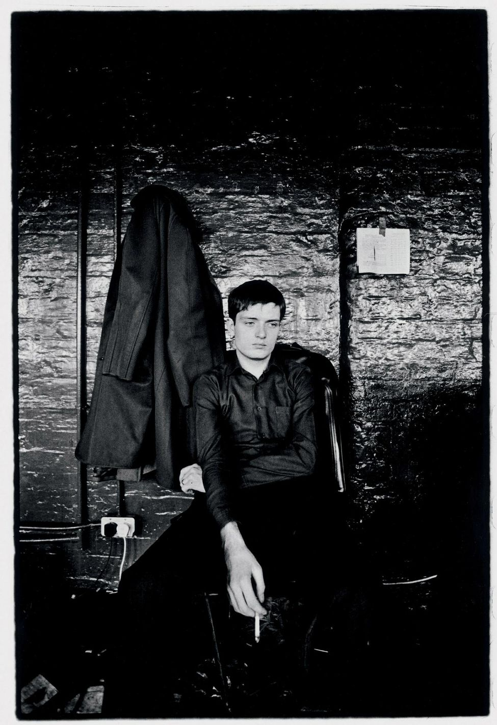 Pictures On My Wall – Ian Curtis – Kevin Cummins