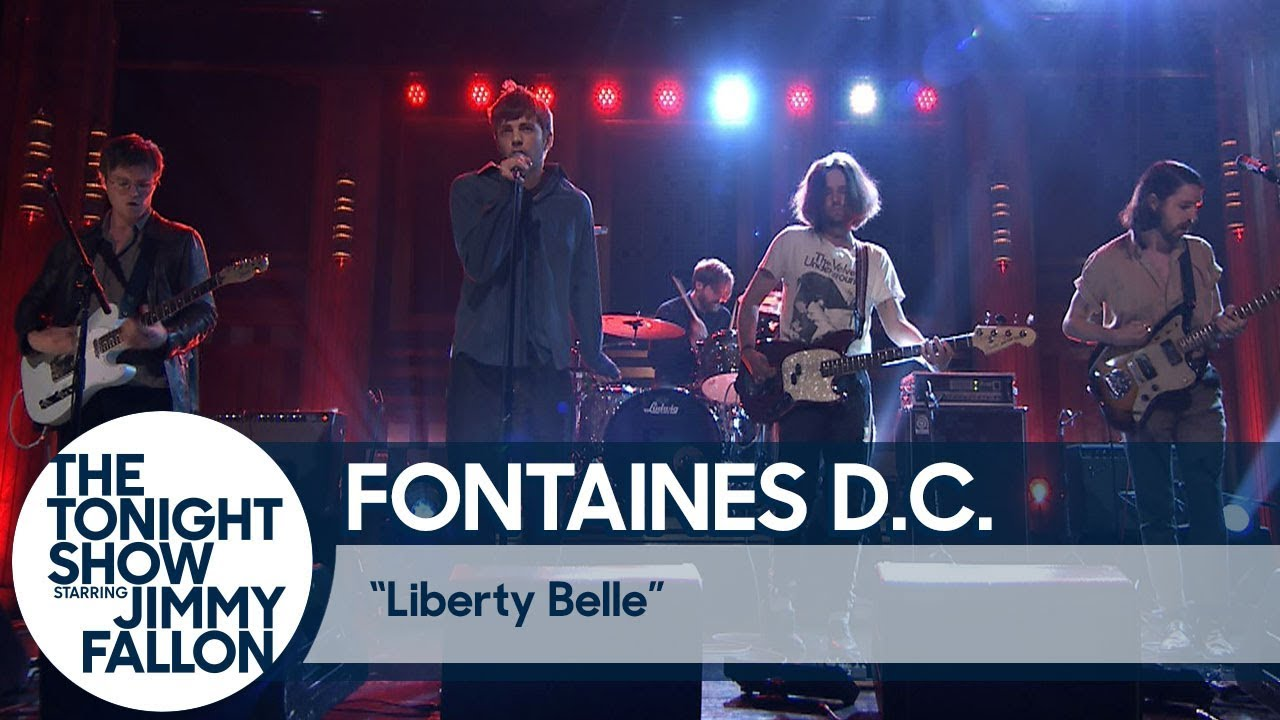 Le Live de la semaine – Fontaines D.C. – Jimmy Fallon's late night show