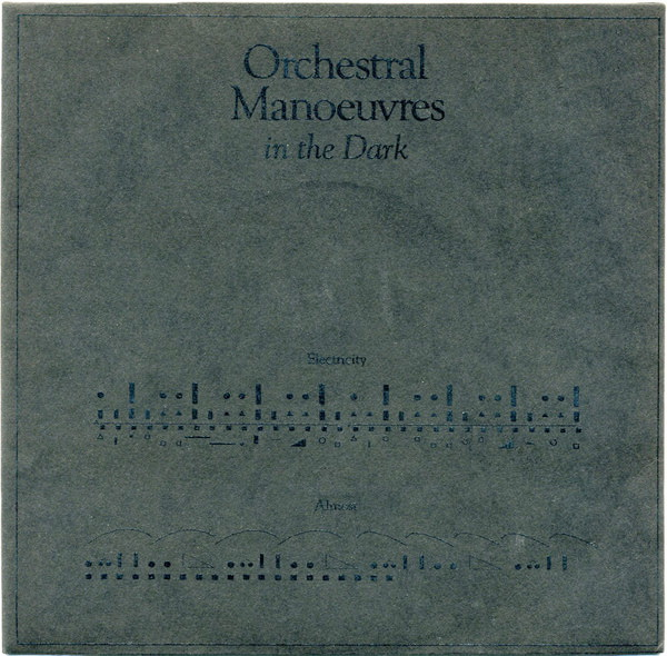 A side / B side – Orchestral Manoeuvres In The Dark – Electricity – 1979
