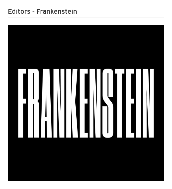 News – Editors – Frankenstein
