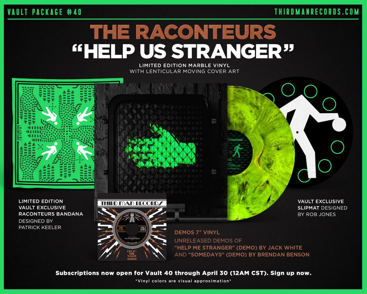 News – The Raconteurs – Bored and Razed