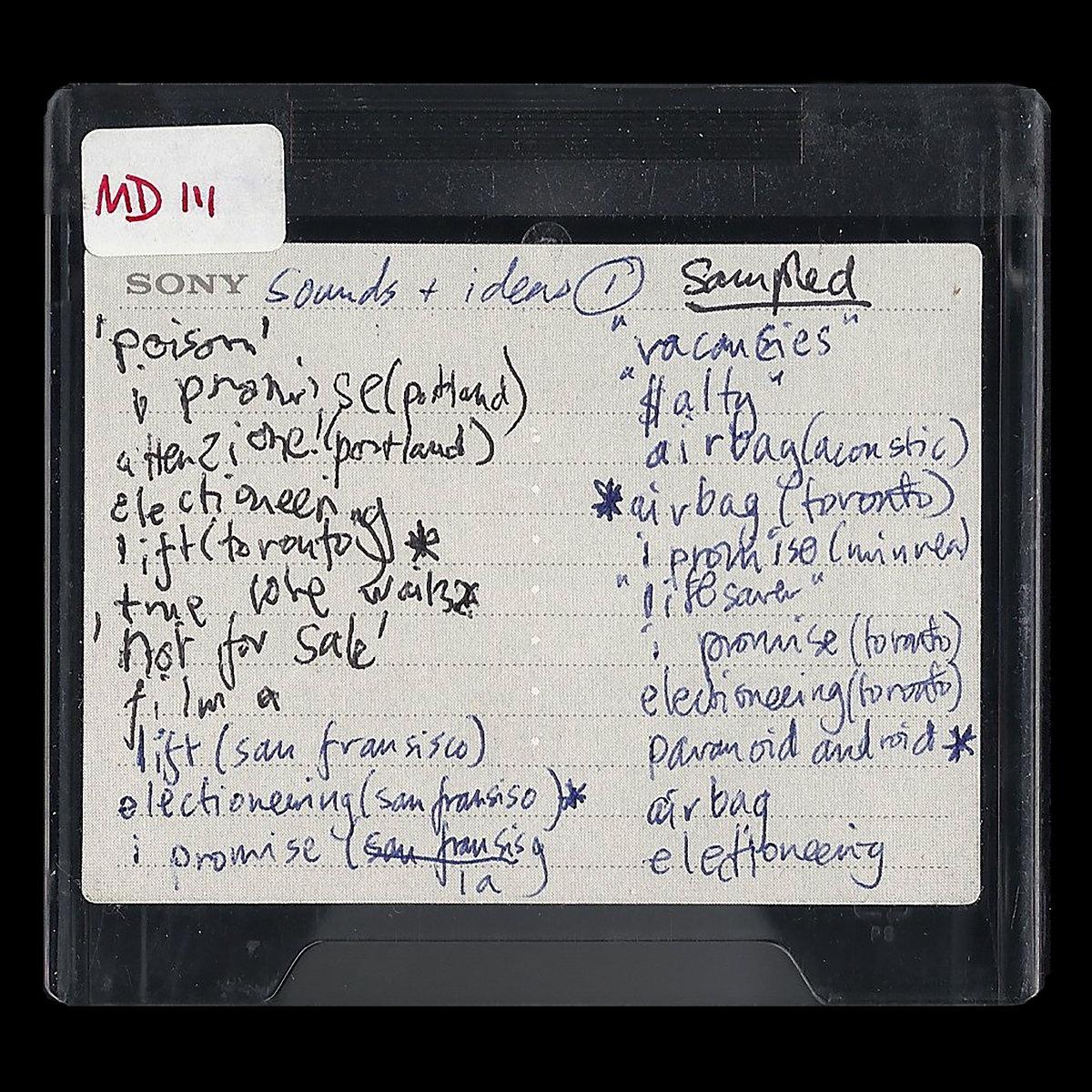 News – Radiohead – Les Sessions studio de OK Computer en partage