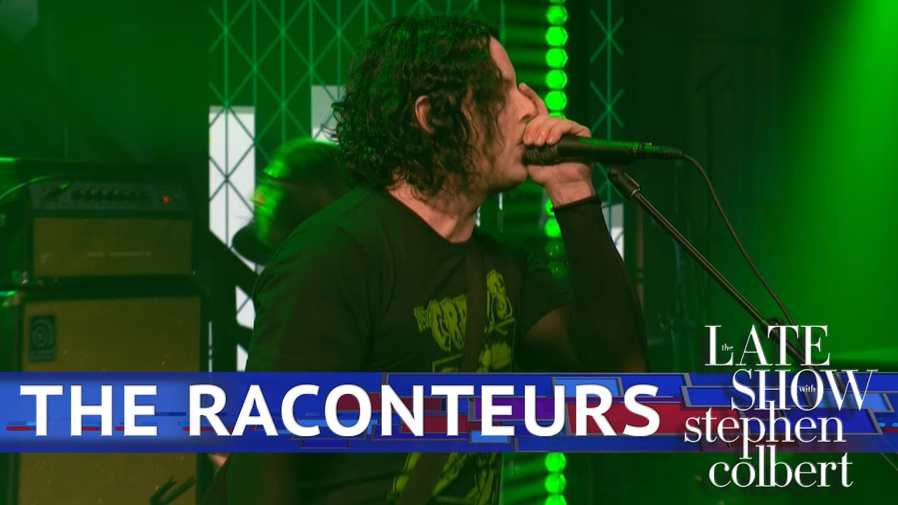Le Live de la semaine – The Raconteurs – Late Show With Stephen Colbert