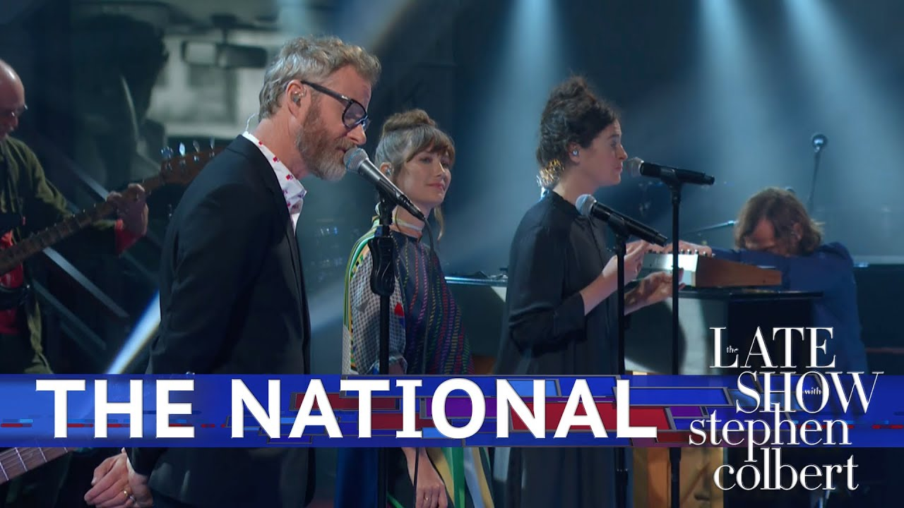 Le Live de la semaine – The National – The Late Show with Stephen Colbert