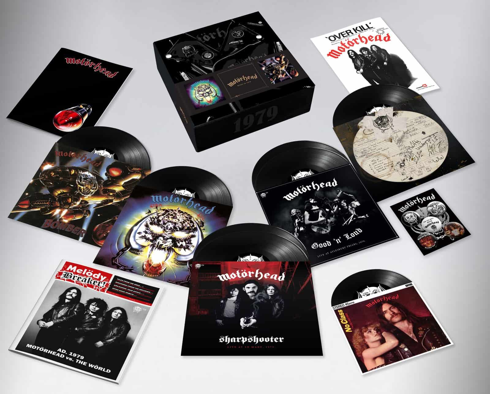 News – Motörhead 1979 box set