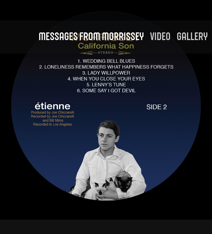 News – Morrissey – Some Say I Got Devil – California Son