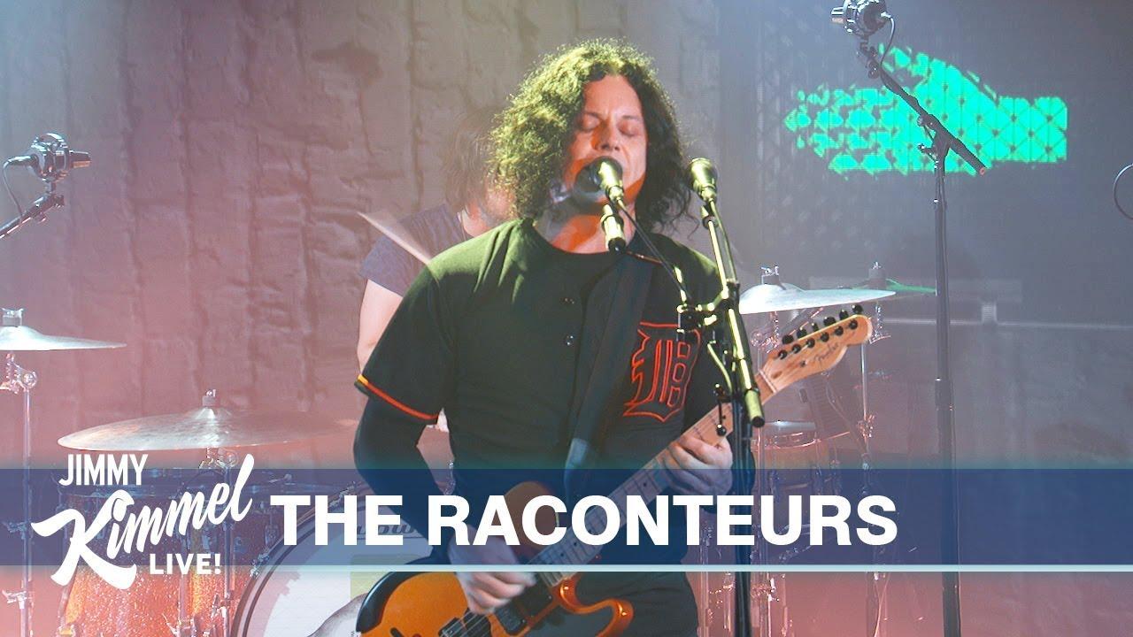 Le Live de la semaine – The Raconteurs – Jimmy Kimmel Live