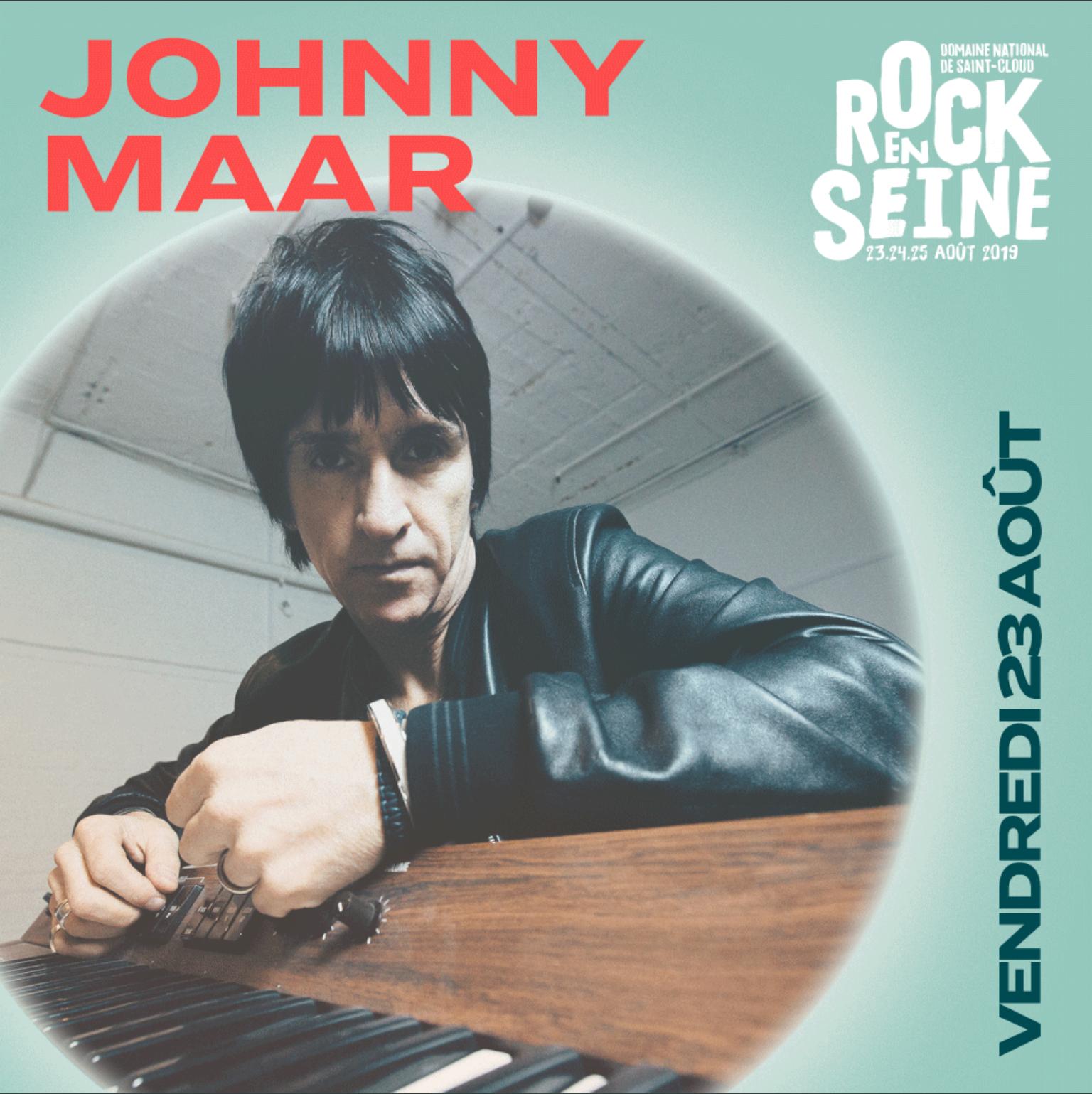En Concert Chez Nous – Johnny Marr – Rock en Seine – Diffusion du concert