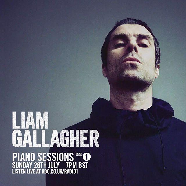 Le Live de la semaine – Liam Gallagher – Once – Radio 1 Piano Sessions