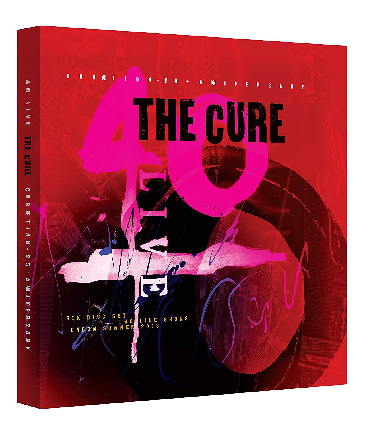 News -The Cure – 40 Live Curaetion 25 + Anniversary