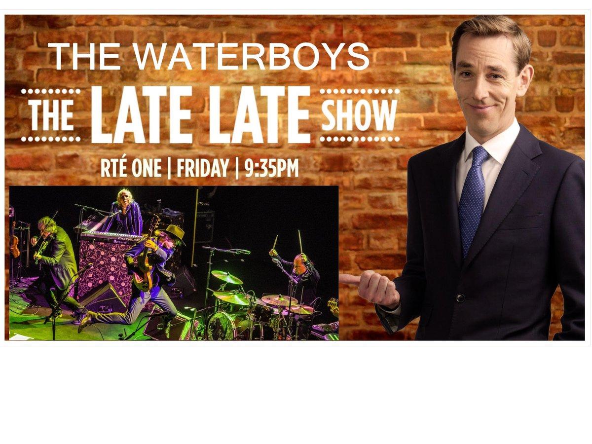 Le Live de la semaine – The Waterboys – The Late late show
