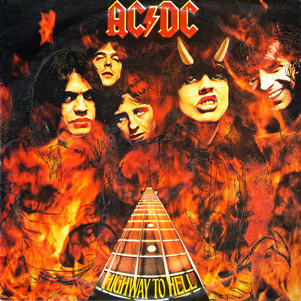 Pictures On My Wall – AC/DC – Highway To Hell – Pochette originale…recalée.