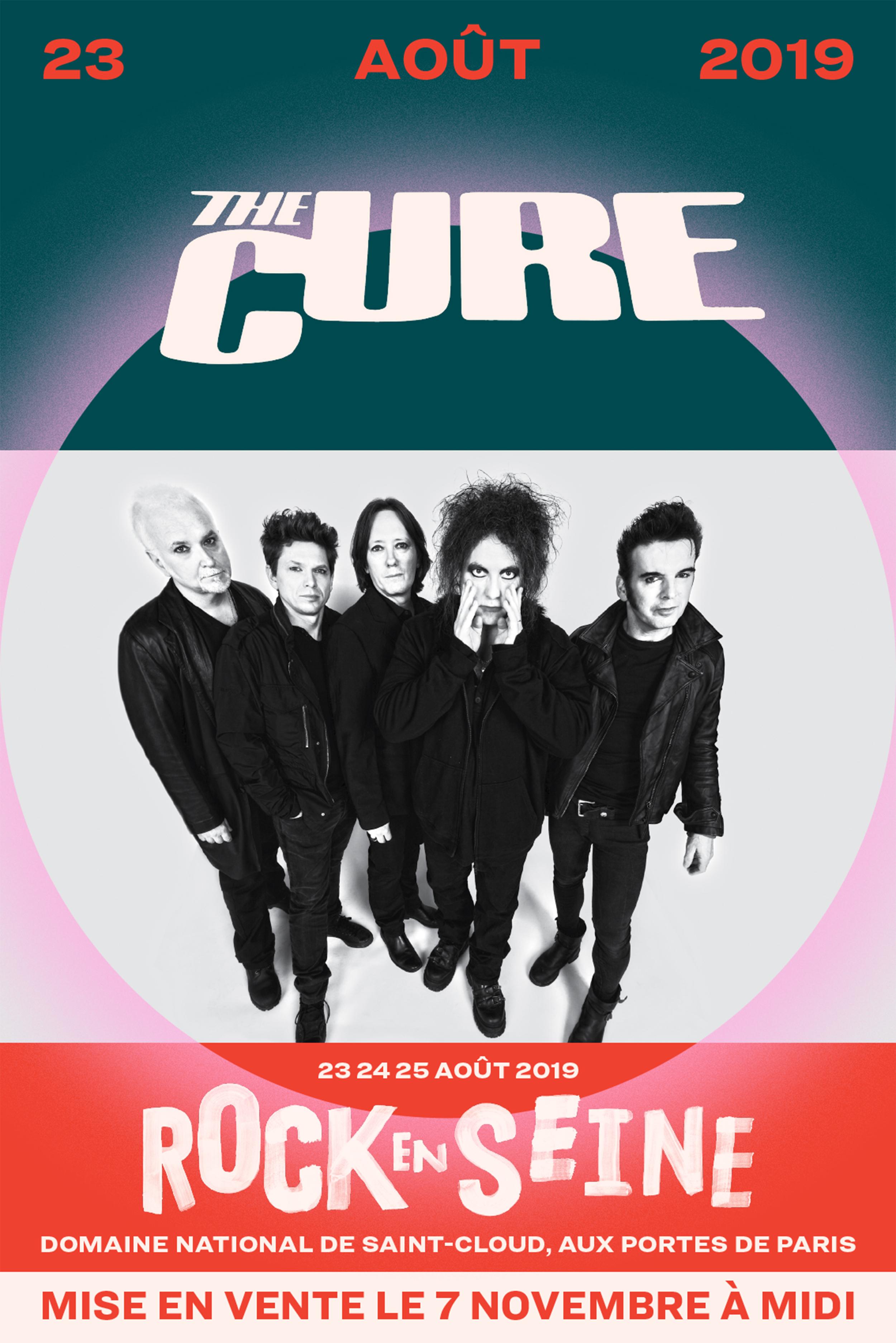En Concert Chez Nous – The Cure – Rock en Seine – Diffusion du concert
