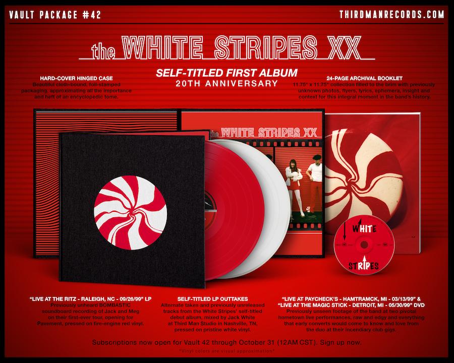 News – The White Stripes – The White Stripes XX