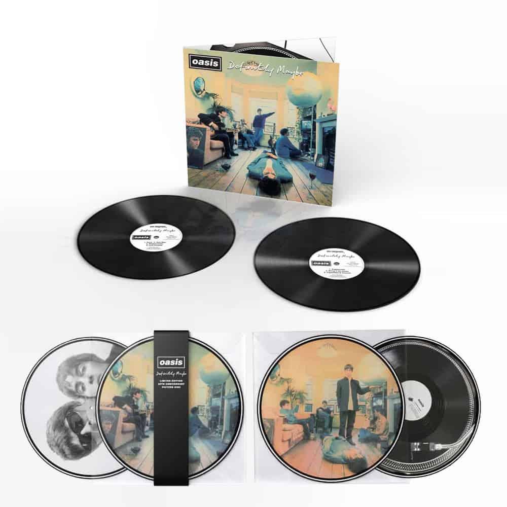 "News – Oasis – Célébration des 25 ans de ""Definitely Maybe"""