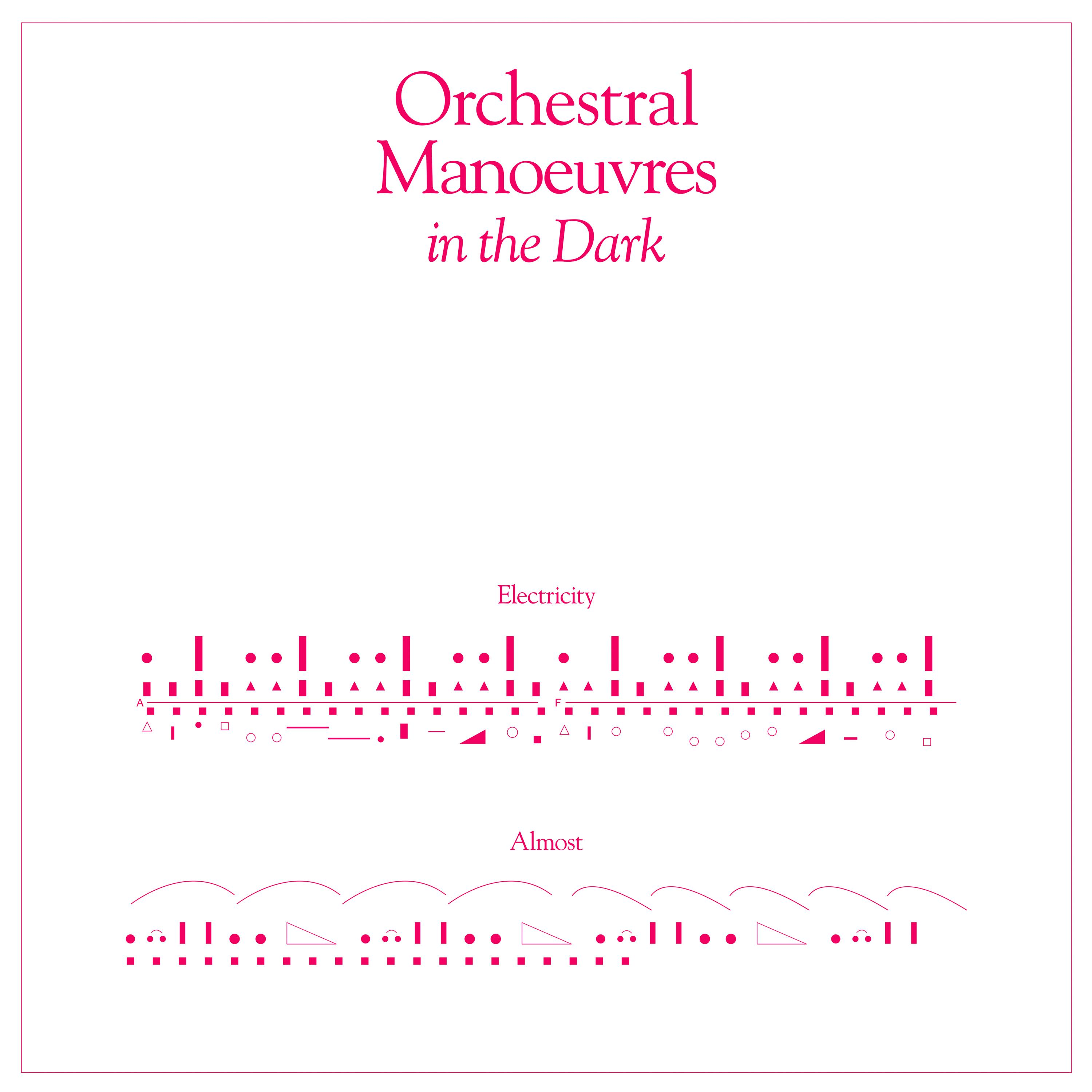 News – Orchestral Manoeuvres in the Dark – Electricity (ft. Vince Clarke Remix) – (7″ Limited Edition Vinyl Single)