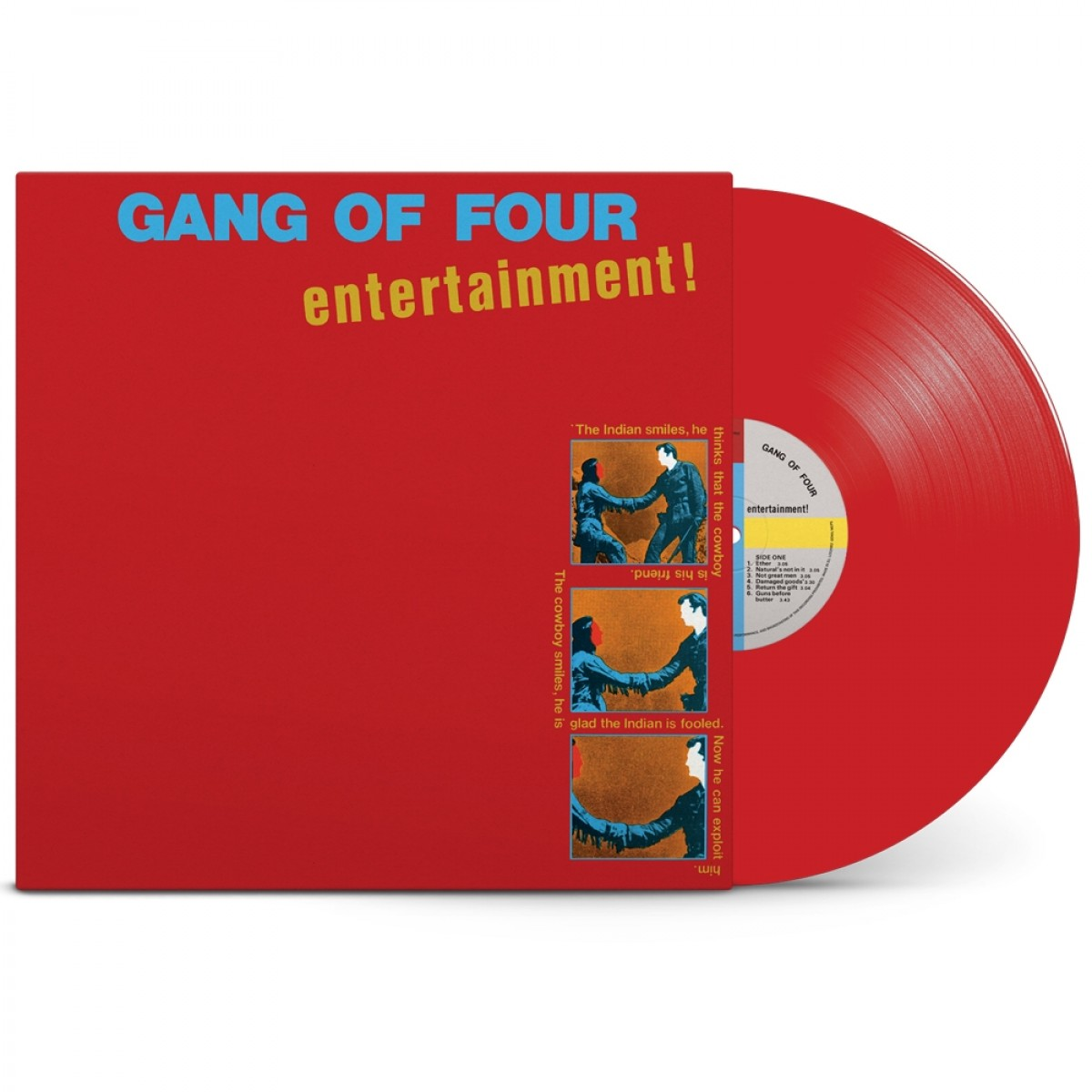 News – Gang Of Four– Entertainment!– Edition collector