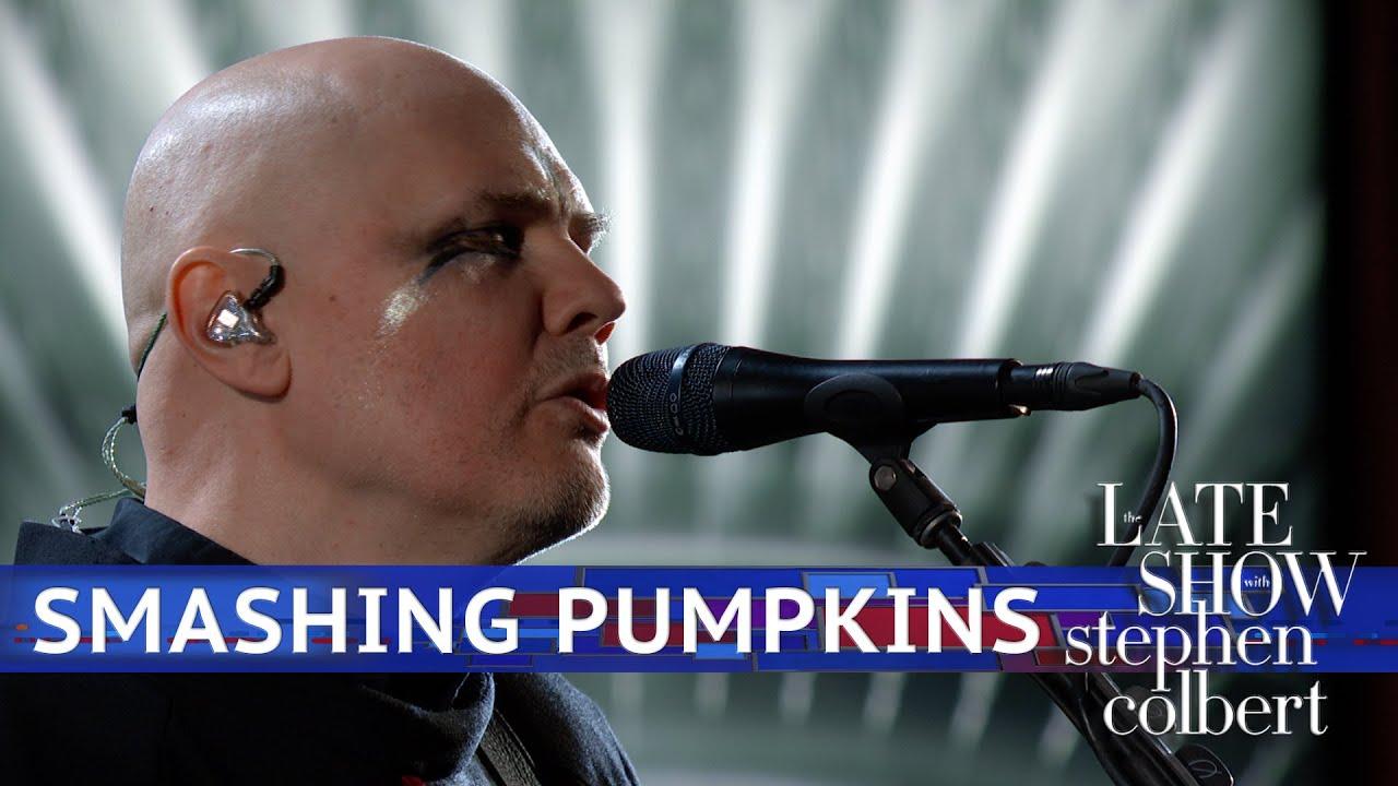 Le Live de la semaine – The Smashing Pumpkins – Knights Of Malta – Stephen Colbert's Late Show