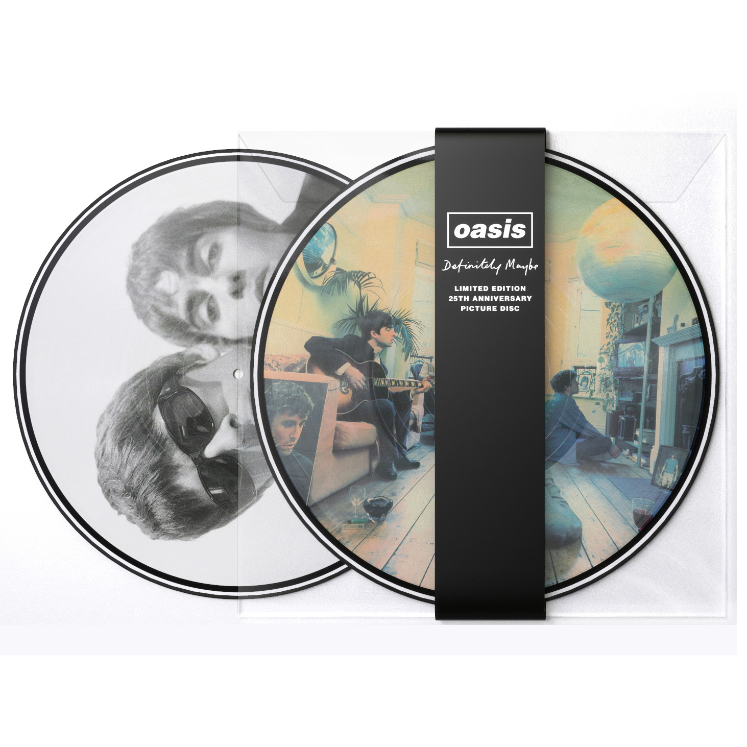 News – Oasis – Definitely Maybe – Une édition picture disc