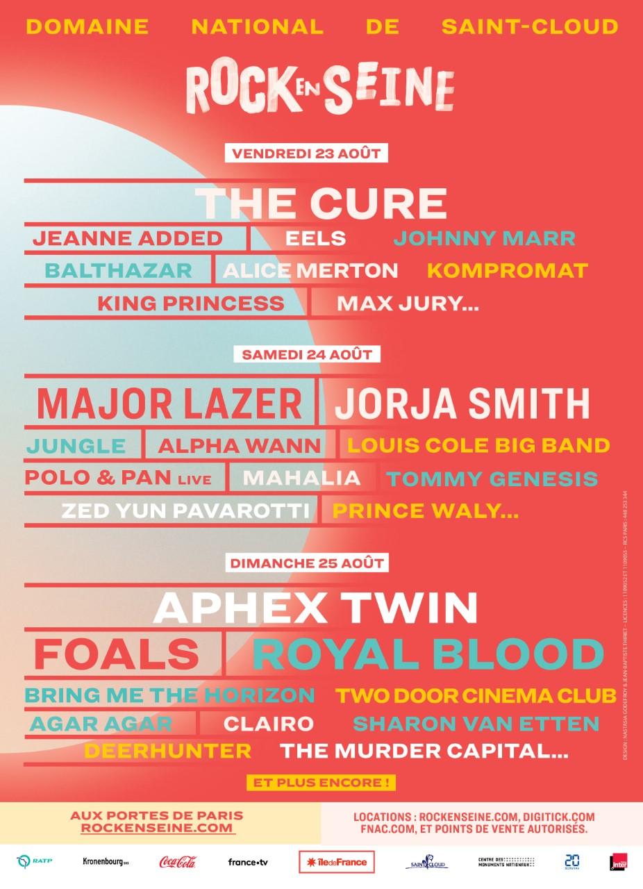 Festival – Rock en Seine 2019: programmation, horaires et line up