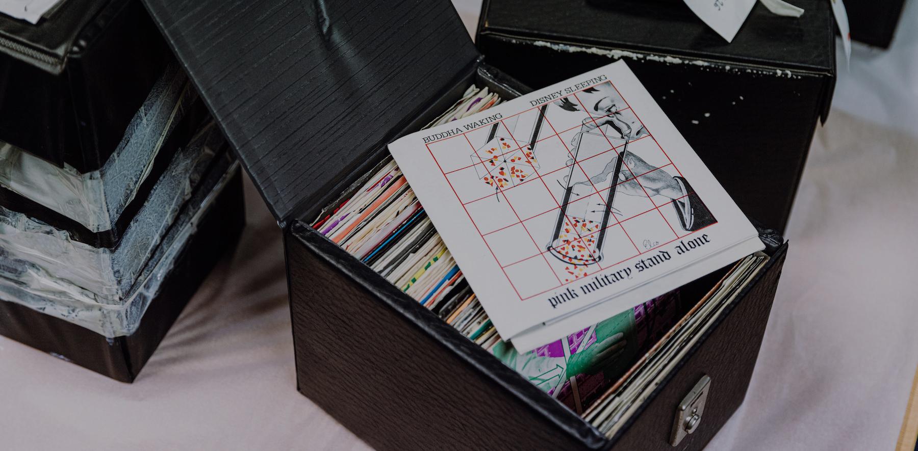 Curiosities – Au coeur de la collection de disques de Tony Wilson