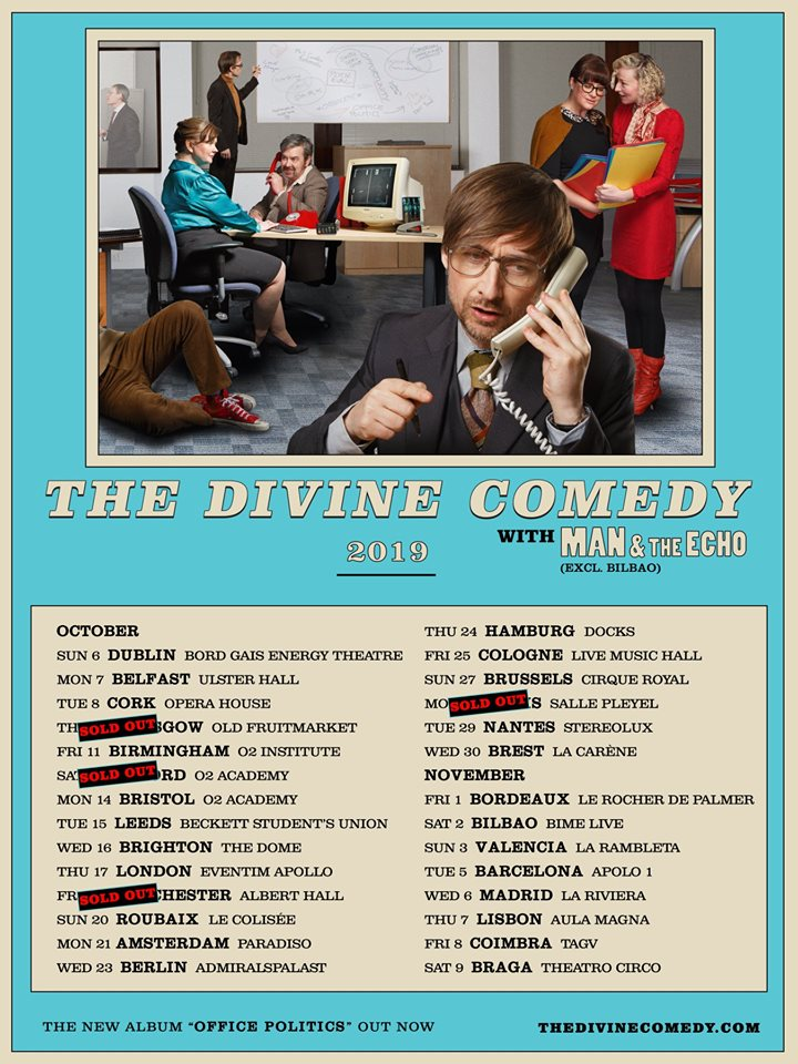 News – The Divine Comedy – Release Party – ARTE
