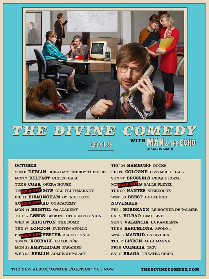 News – The Divine Comedy – Release Party – ARTE