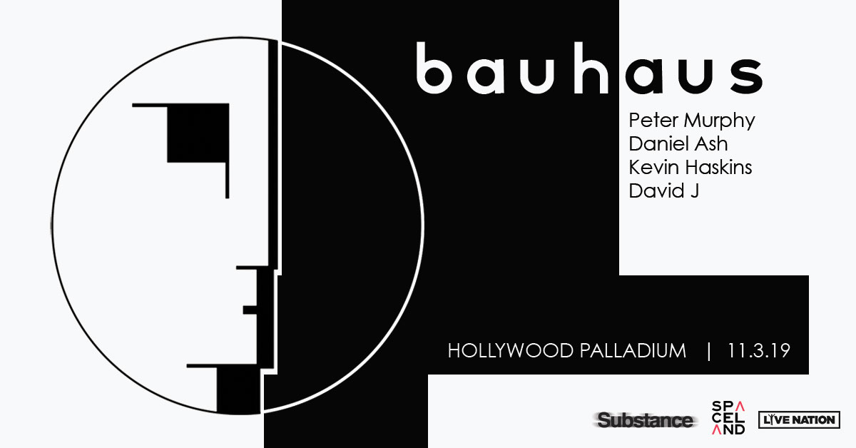 News – Bauhaus – Reformation pour un concert – Hollywood Palladium