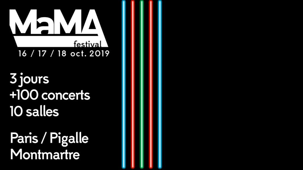 Festival – MaMA Festival 2019 – Paris