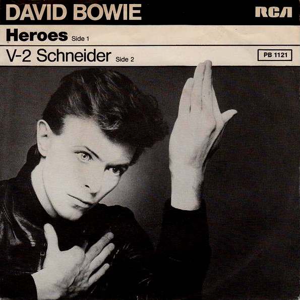 A side / B side – David Bowie – Heroes – 23/09/1977