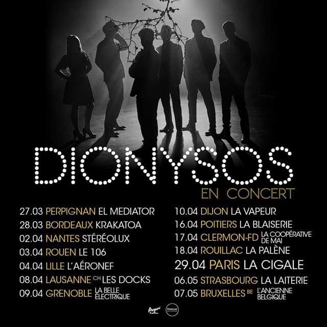 Bientôt En Concert Chez Nous – Dionysos