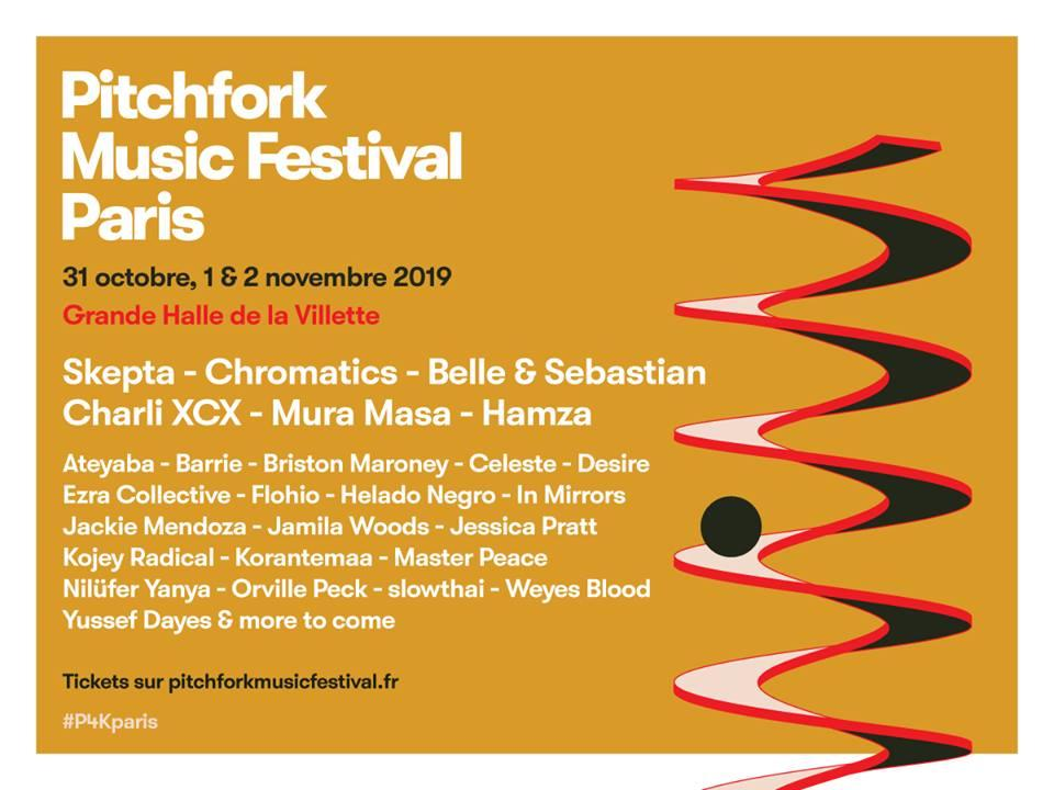 Festival – Pitchfork Music Festival 2019 – Paris
