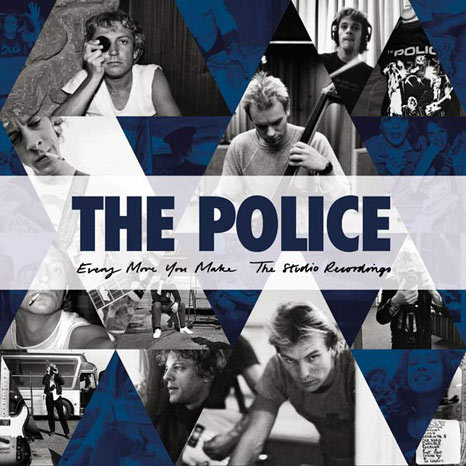 News – The Police – Every Move You Make: Studio Recordings Box CD
