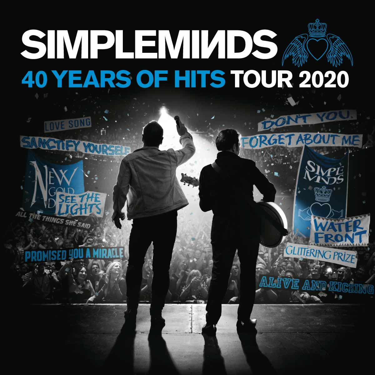 Bientôt En Concert Chez Nous – Simple Minds – 40 Years Of Hits Tour 2020