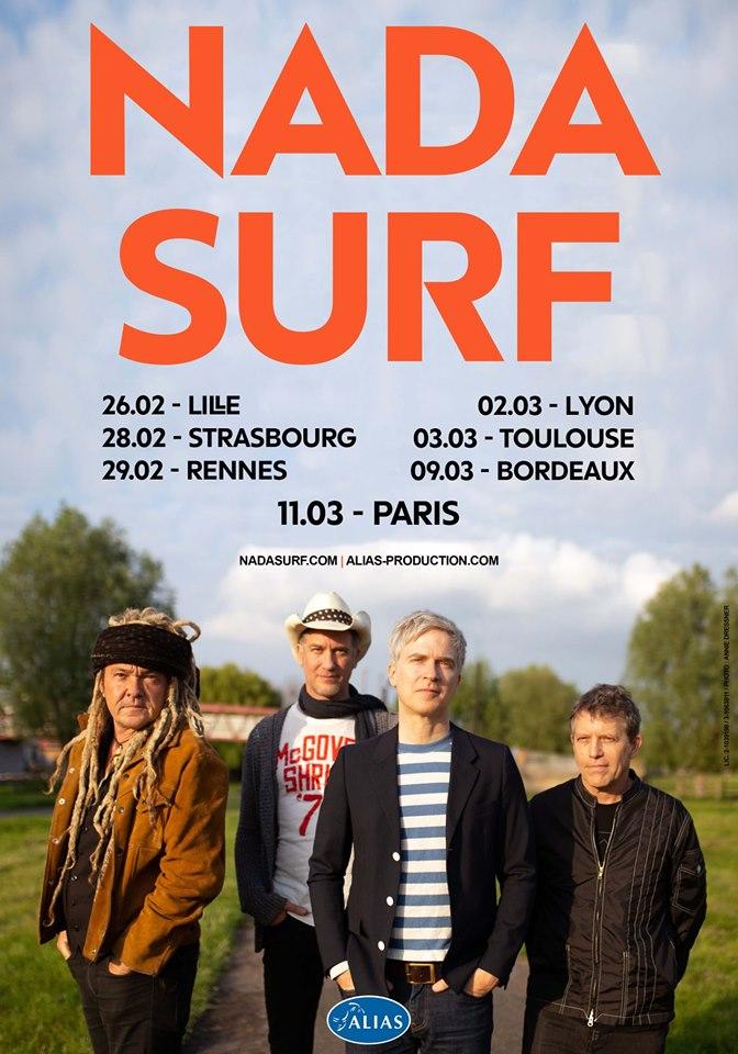 Bientôt En Concert Chez Nous – Nada Surf