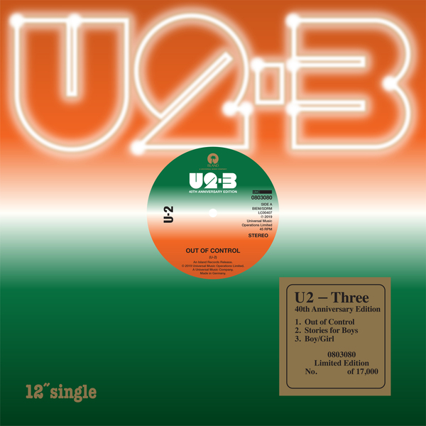 News – U2 -Three – Black Friday