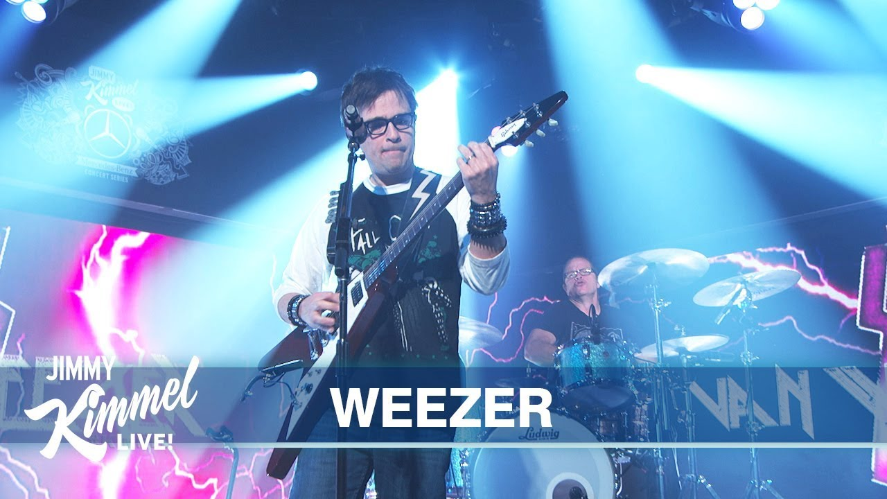 Le Live de la semaine – Weezer – The end of the game – Jimmy Kimmel Live