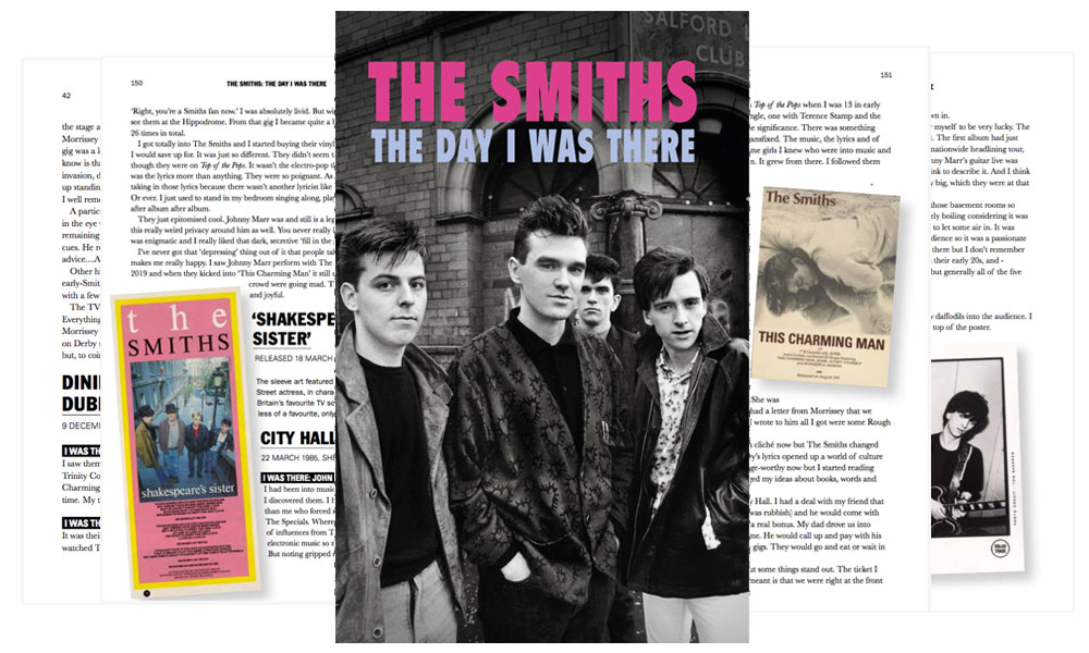 News Littéraires – The Smiths – The Day I Was There