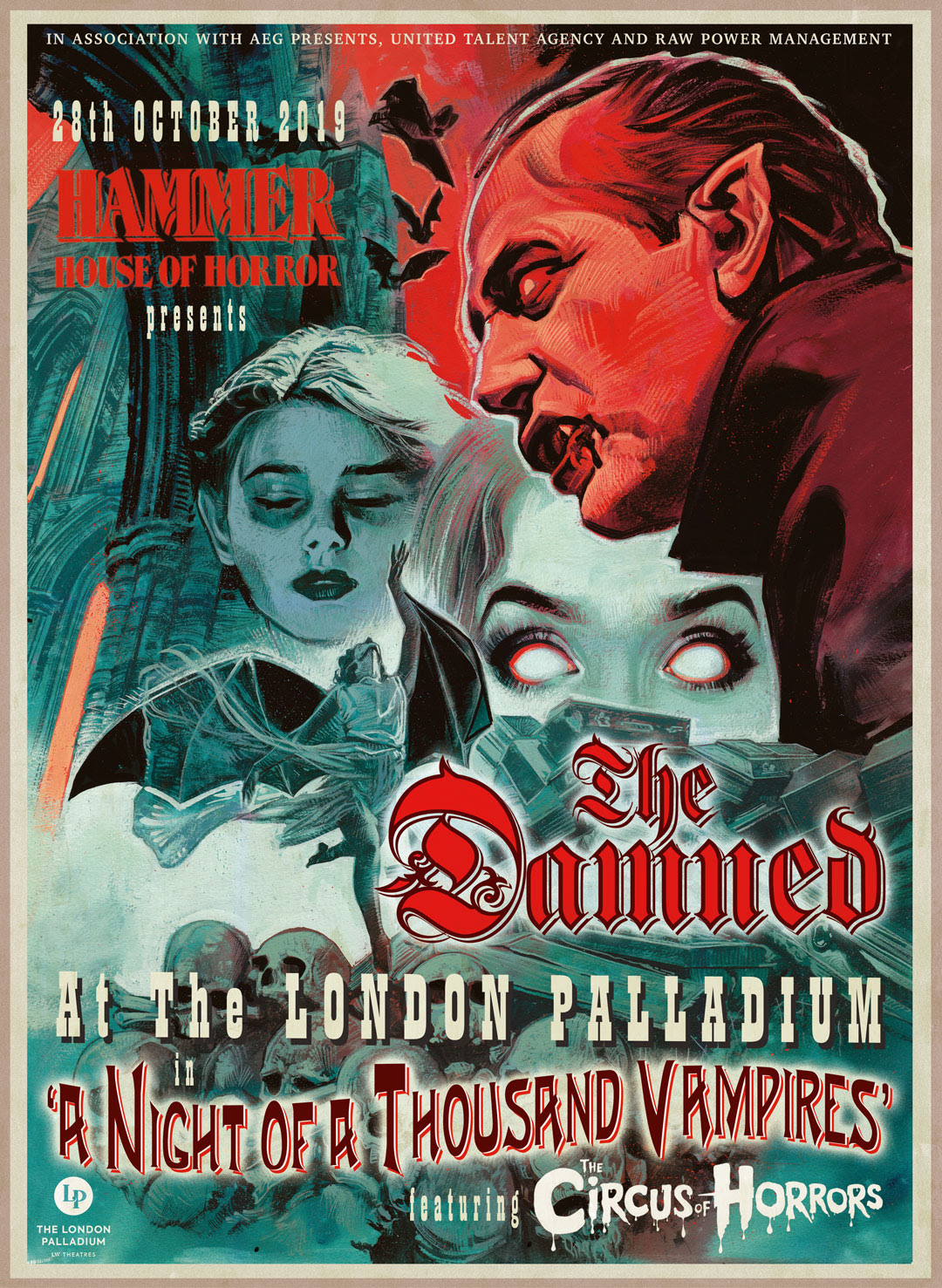 Curiosities – The Damned – An Evening Of A Thousand Vampires – Guinness book of world records