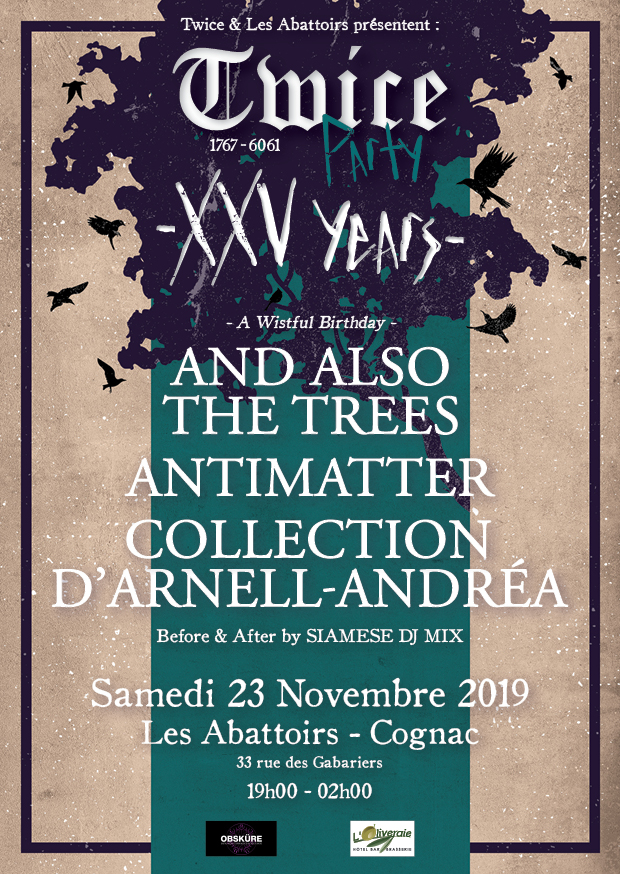 Bientôt En Concert Chez Nous – And Also the Trees