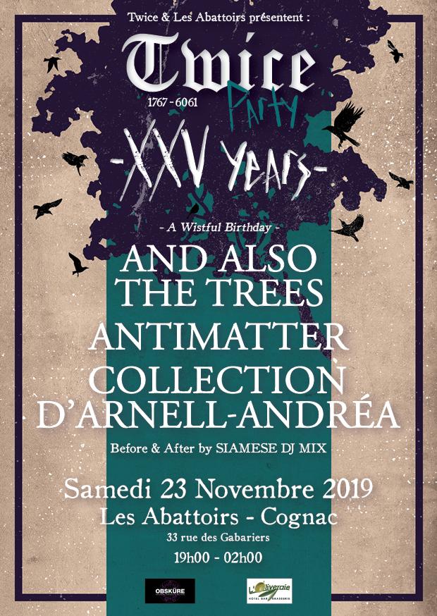Bientôt En Concert Chez Nous – And Also the Trees