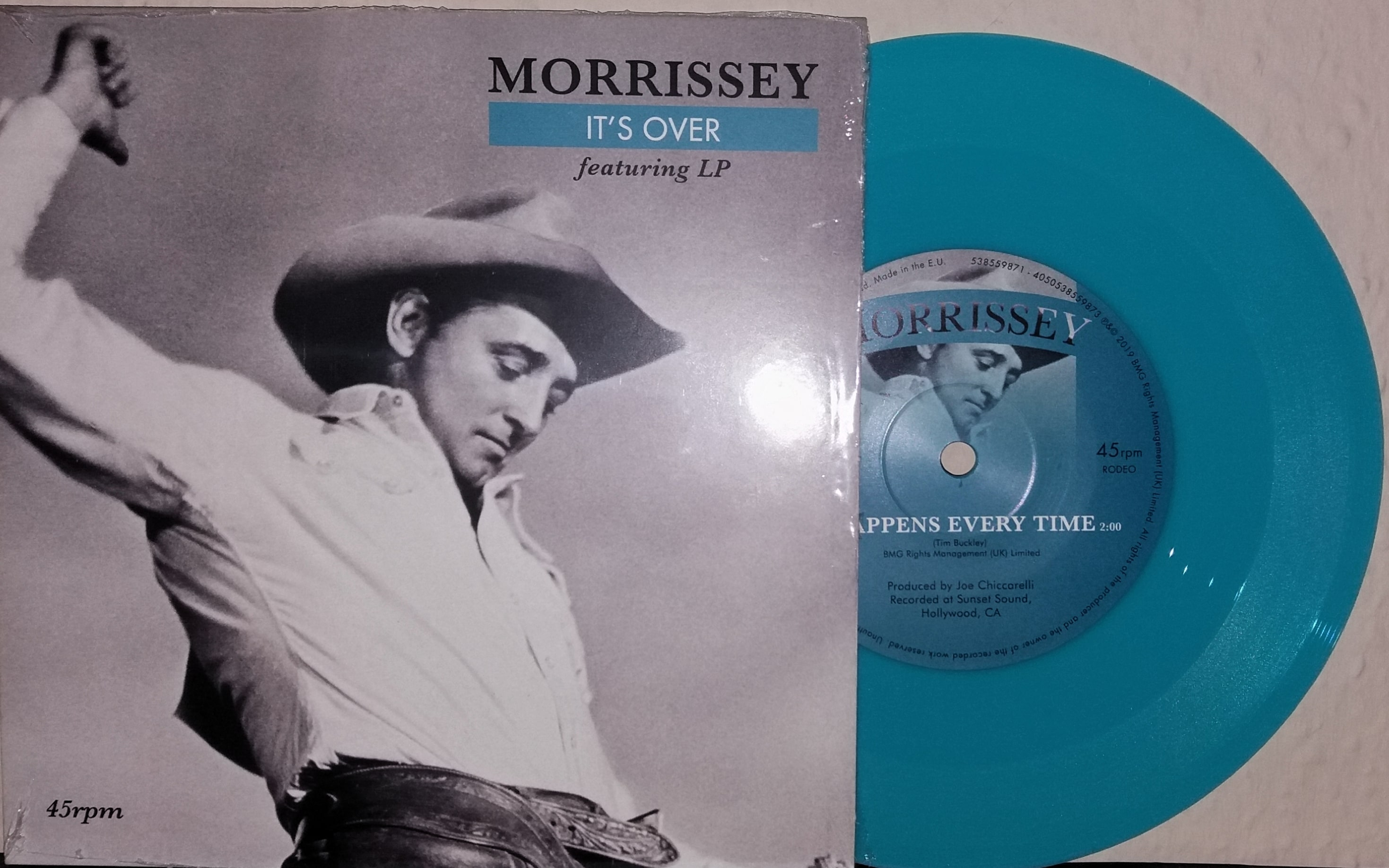 Morrissey – It's Over / It Happens Every Time