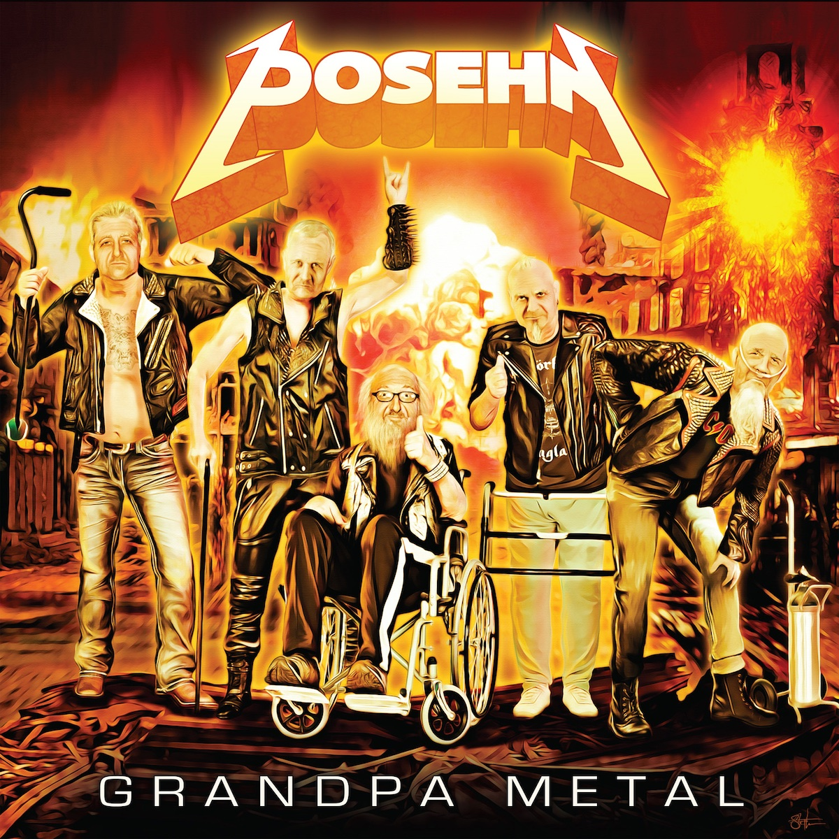 Activités très souterraines – Posehn – Grandpa Metal