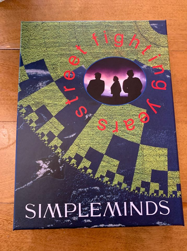 News – Simple Minds – Street Fighting Years – Anniversary Box