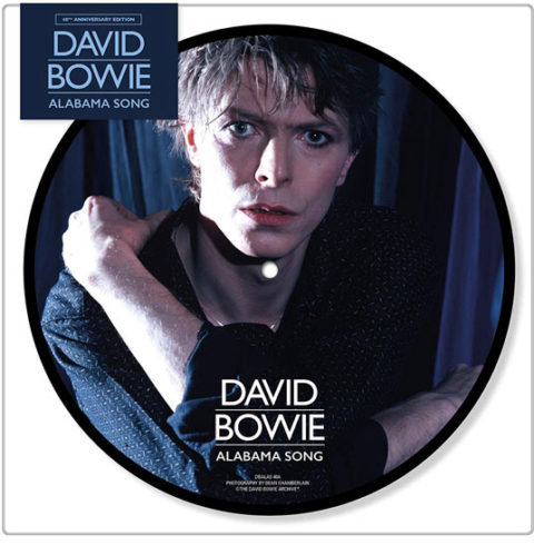News – Bowie – Alabama Song – 40th anniversary 7″ picture disc