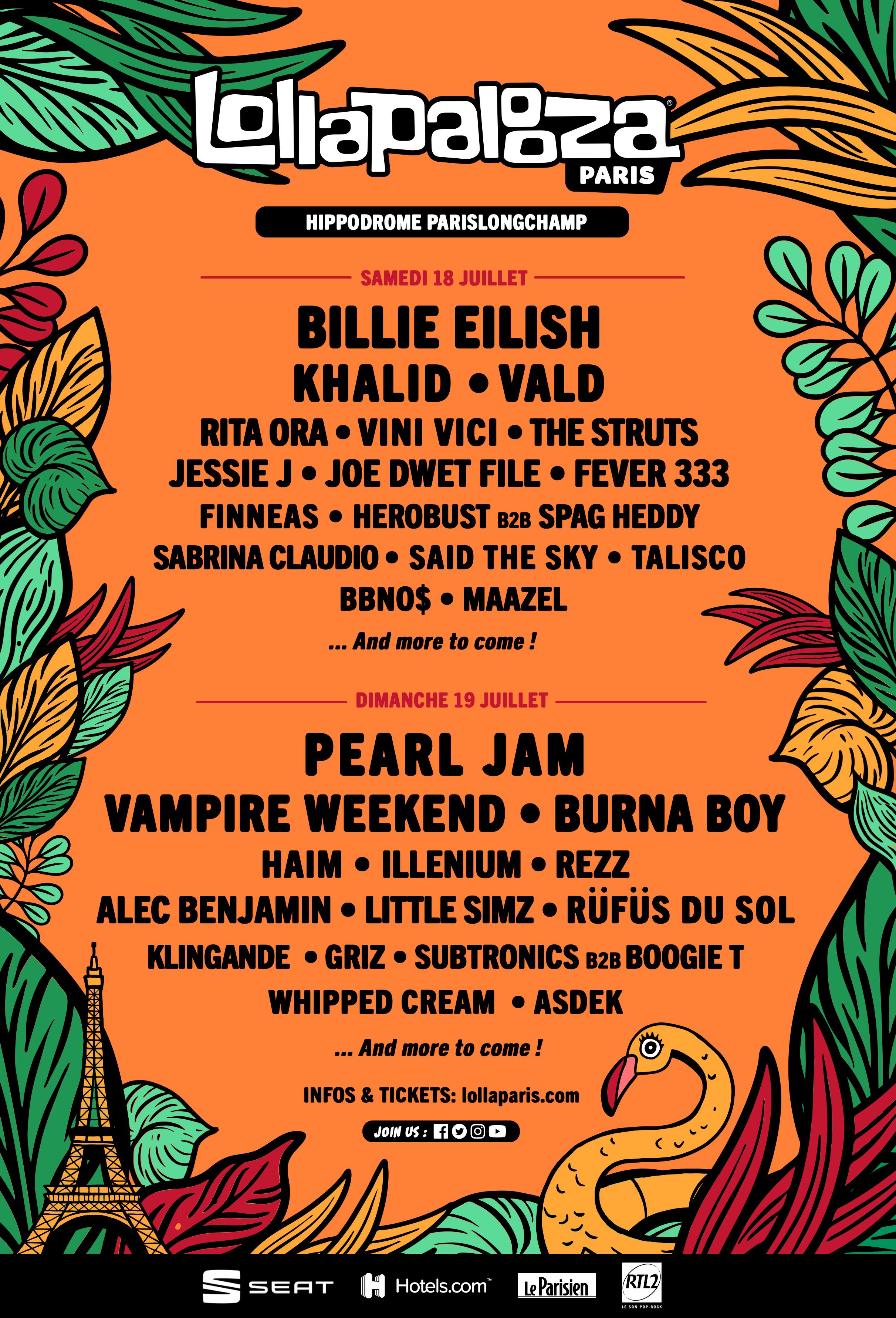 Festival – Lollapalooza Paris 2020