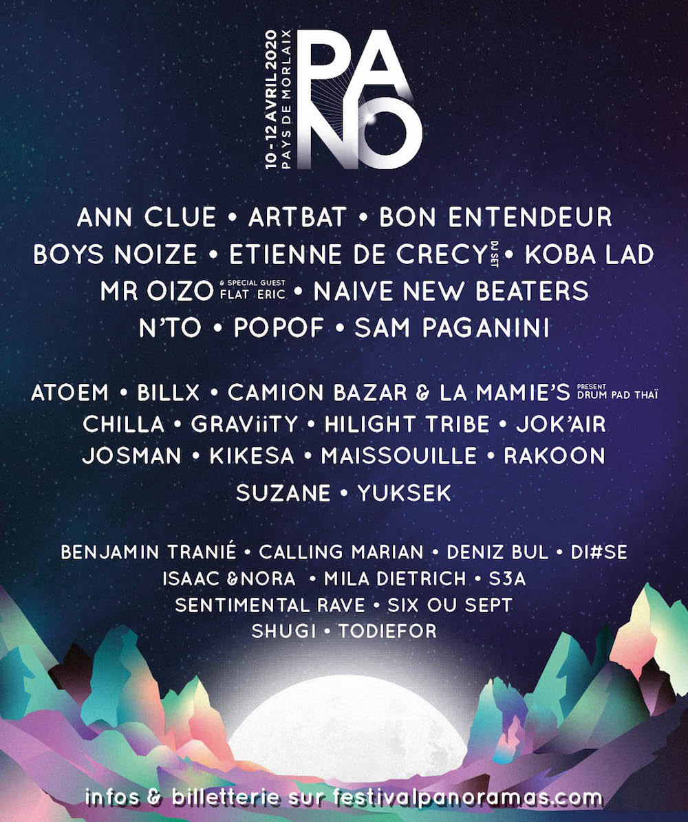 Festival – Panoramas #23 – Programmation 2020