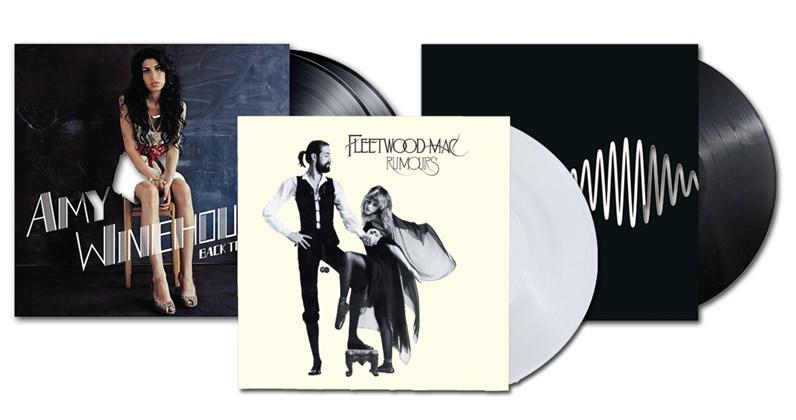 Curiosities – Les 100 albums vinyles les plus vendus au Royaume-Uni – 2010/2019