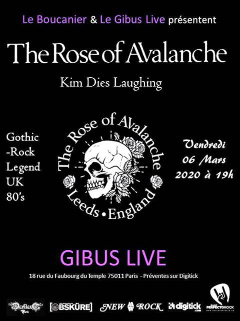 Bientôt En Concert Chez Nous – The Rose of Avalanche