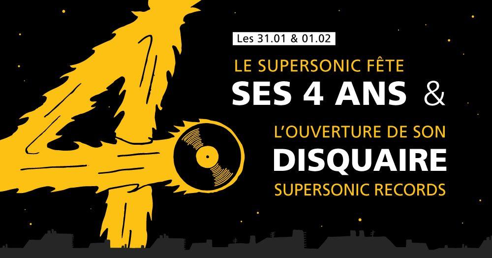 Curiosities – Naissance du Disquaire Supersonic Records
